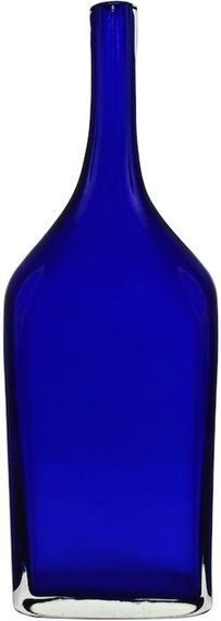 Gino Cenedese | Blue Murano Bottle