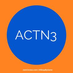 The #ACTN3 #gene has been called the #strength & #power #gene. Order your #DNASport #test online at www.JoinCircles.com #personalisation