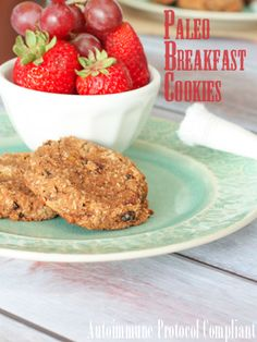 Allergy Friendly Breakfast Cookies - Against All Grain