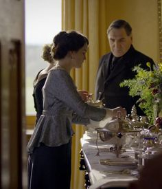Breakfast at Downton DOWNTON ABBEY COOKS website with numerous recipes
