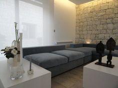 ambiance salon légère et caressante par Patricia ESCAMEZ architecte