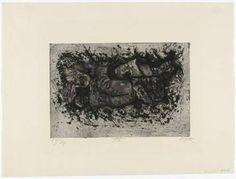 Gefunden beim Grabendurchstich (Auberive) (trouvé en creusant une tranchée (Auberive)), 1924, eau-forte, aquatinte et pointe sèche, 19 x 28,3 cm