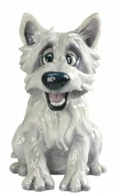 Amazon.com - Pets With Personality Mac The Westie Dog Figurine - Collectible Figurines