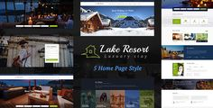 Resort and Hotel WordPress theme is designed specially for Accomodation, Bed and Breakfast, Rersort, and all type of Hotel Business and those who offer Accomodation related services.
