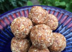 Put nuts in processor, til a fine meal. Add apricots and dates and pulse til dark and combined.Add vanilla and almond butter and pulse carefully.If not forming a ball add a small amount of water …