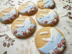 Mt Fuji cookies