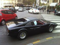 Ferrari 308 GTS. Paris, October 2012.
