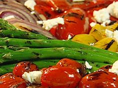 Grilled Vegetable Salad recipe from Patrick and Gina Neely via Food Network