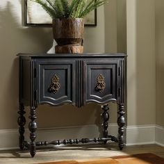 Hooker Furniture Distressed Black Decorative Chest | from hayneedle.com