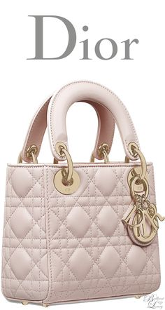 6d73a4e3b6e3 Brilliant Luxury   Dior Classic 2016 ~ Mini Lady Dior bag in Rose Poudre  lambskin Mini