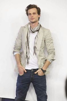 Matthew Gray Gubler ♥ I know, but he so so so. Can't explain it. Love him. To soon. To soon.