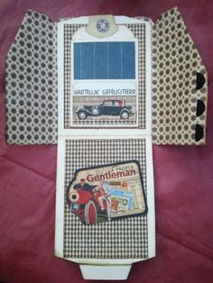 Proper Gentleman Card Flap