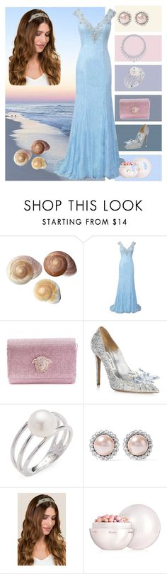 """Afrodita"" by younger26 ❤ liked on Polyvore featuring Versace, Jimmy Choo, Harry Winston, Baggins, Miu Miu, Francesca's and Guerlain"