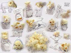 pop (head) corn