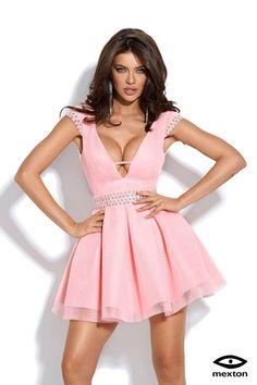 Rochie de ocazie cu aplicatii metalice MEXR5669G - 349,00RON Graduation, My Style, Dresses, Fashion, Vestidos, Moda, Fashion Styles, Moving On, Dress