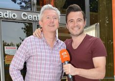 Former Westlife star Shane Filan released his first solo single 'Everything to Me' on Ryan Tubridy's 2FM radio show with an outdoor summer party for his fans, Dublin, Ireland - 12.07.13. Pictures: Cathal Burke / VIPIRELAND.COM *** Local Caption *** Louis Walsh, Shane Filan
