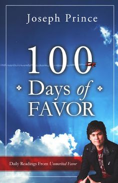 Daily Favor Blog Book of the Week for 3/10/17: 100 Days of Favor by Joseph Prince http://favored1-dailyfavor.blogspot.com/2017/03/days-of-daily-favor.html