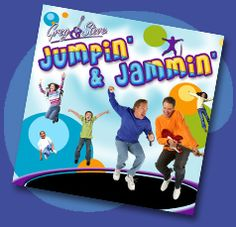 Greg and Steve / Jumpin' & Jammin'.  Action and movement songs for kids.