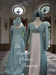 Regency Jane Austen Pelisse long jacket by TheEnglishCostumeCo