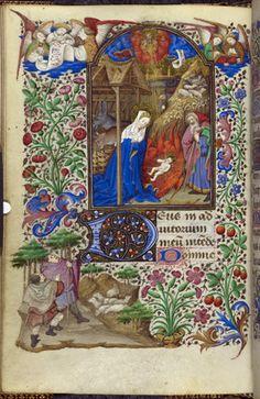 Yates Thompson 3   f. 81v   Nativity