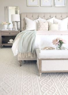 bedroom decor for couples \ bedroom decor ; bedroom decor for couples ; bedroom decor for small rooms ; bedroom decor ideas for women ; bedroom decor ideas for couples Bedroom Inspirations, Modern Bedroom, Romantic Bedroom Decor, Bedroom Makeover, Bedroom Carpet, Luxurious Bedrooms, Luxury Bedroom Master, Small Bedroom, Home Bedroom