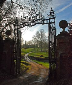 Wherever this gate leads I want to go!    BETTERTON HOUSE by Messent, via Flickr