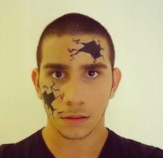 Sugestão de maquiagem simples e criativa para os meninos pelo @filipechile, do Beauty Team da NYX Belém
