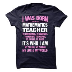 Proud Be A Mathematics Teacher T-Shirts, Hoodies. SHOPPING NOW ==► https://www.sunfrog.com/No-Category/Proud-Be-A-Mathematics-Teacher-61557407-Guys.html?41382