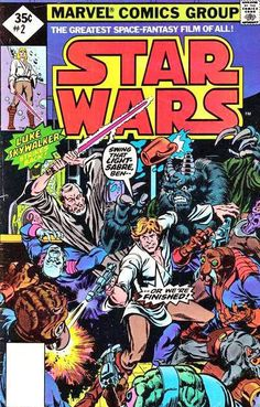 Marvel Star Wars Issue 2.   This is the first comic i ever bought