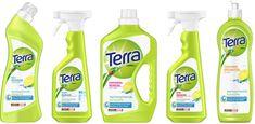 henkel terra - Google Search Bottle Packaging, Soap Packaging, Label Design, Packaging Design, Makeover Party, Washing Detergent, Japan Design, Shower Gel, Spray Bottle