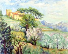 The Old Convent Of The Servianne - Henri Manguin