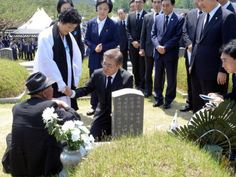 #world #news  South Korea's Moon joins protest song at commemoration in nod to liberal values