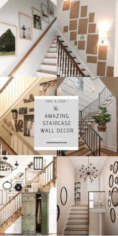 60 Best Stairwell Decorating Images House Design