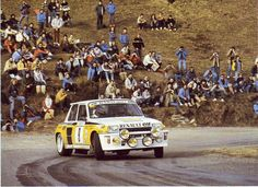 ra Jean Ragnotti - Jean Marc Andrie-Renault 5 Turbo Gr.B-Renault-Elf-Rally Monte Carlo 1983