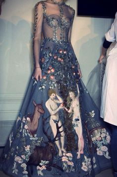 """Valentino spring 2014 couture collection- """"Le jardin d'Eden"""""""
