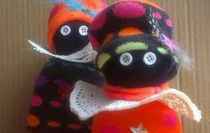 Zwarte Piet knutselen van sokken