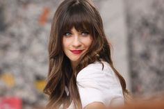 Zooey Deschanel<3 Love love love her hair! Gonna see about getting it cut like this!