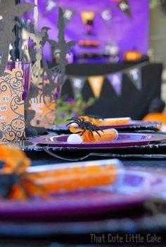 Halloween 2014: A Witches' Tea Party | That Cute Little Cake