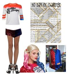"""30 day oc Challenge"" by bubble-loves-you ❤ liked on Polyvore featuring Wolford and Shoe Republic LA"