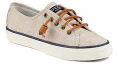 Sperry Women's Seacoast Cross Hatch - Taupe/Sand