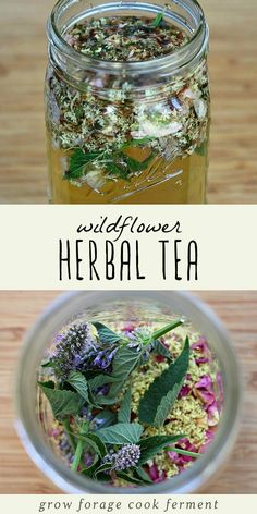 While the season for fresh wildflowers is generally pretty short, they are easy to dry on a drying screen and store for use throughout the year. Dried edible flowers are perfect for using in an wildflower herbal infusion. Make this recipe for