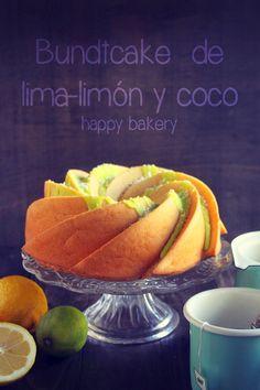 Bundt Cake de lima-limón y coco