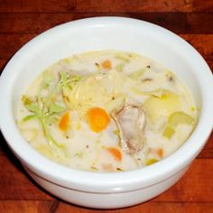 Elegant Oyster Soup Recipe on Yummly