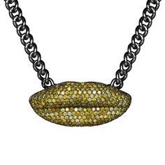 I am not a piece of shit yellow diamond necklace – Bjarne Melgaard +Bjørg Jewellery Jewelry Art, Fine Jewelry, Jewellery, Champagne Diamond, 925 Silver, Collaboration, Plating, Chain, Luxury