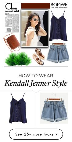 """""""Romwe"""" by lovefashioonn on Polyvore featuring Sans Souci"""