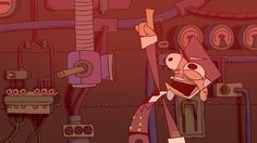 Ben Snyder Animation | REX OCTOBER (Underexposed Film Festival YC 2013 | Official Selection)