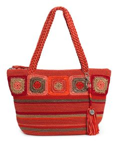 Look what I found on #zulily! Rust Radiant Crochet Kenya Tote by The Sak #zulilyfinds