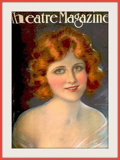 1920 Sept Cover 'Theatre Magazine' Hope Hampton by Hamilton King