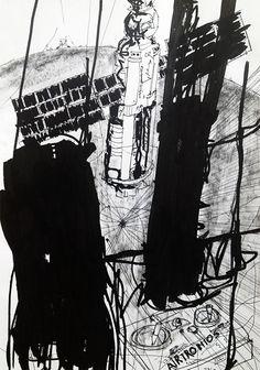 Apollo 10 by Thomas Dausell #kunst #kunstner #maleri #tegning - Beauton Art Gallery - http://beautonart.com | http://beautonart.dk