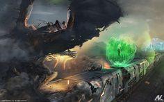 Attack of Daal - U7 by adamkuczek.deviantart.com on @DeviantArt